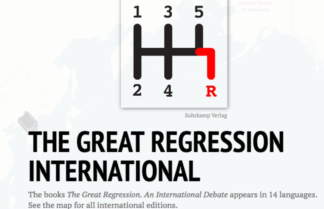 'The Great Regression' : le débat international est lancé
